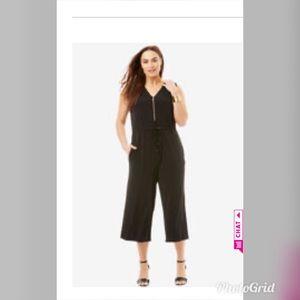 🎉HP🎉 Cropped wide leg jumpsuit